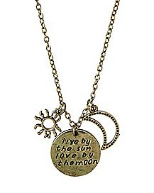 Live By The Sun Love By The Moon Necklace