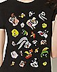 Looney Tunes Faces T Shirt