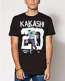 Kakashi Naruto Jersey T Shirt