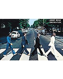Abbey Road The Beatles Poster