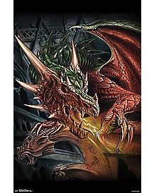 Alchemy Dragon Poster