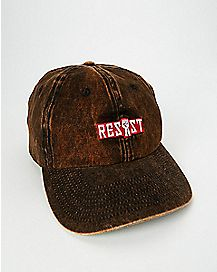Acid Washed Resist Dad Hat