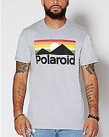 Landscape Polaroid T Shirt