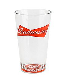 Budweiser Pint Glass 16 oz.
