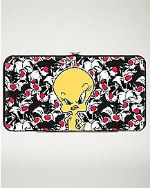 Tweety Bird Hinged Wallet - Looney Tunes