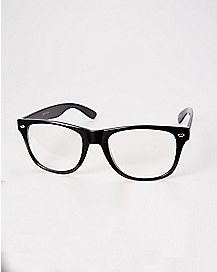 Black Frame Fake Glasses