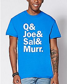 Q & Joe & Sal & Murr T Shirt - Impractical Jokers