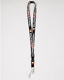 French Fries Matter Lanyard