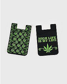 Pot Leaf ID Holders - 2 Pack