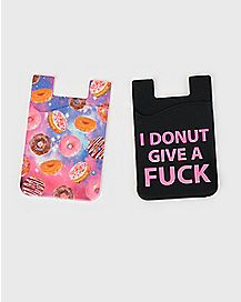 Donut ID Holders - 2 Pack