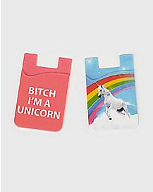 Unicorn ID Holders - 2 Pack