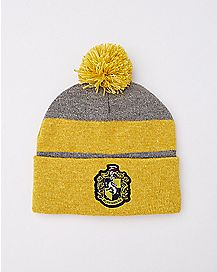 Hufflepuff Harry Potter Pom Beanie Hat