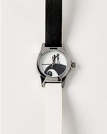 Black and White Jack and Sally Watch - The Nightmare Before Christmas