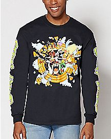 Breakout Looney Tunes Long Sleeve T Shirt