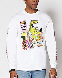 Nickelodeon Classics Long Sleeve T Shirt
