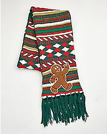 Angry Gingerbread Scarf
