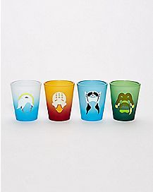 Overwatch Characters Shot Glass 4 Pack - 1.5 oz.