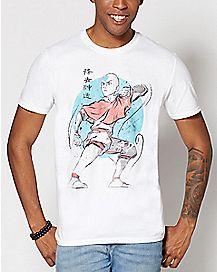 Aang Avatar The Last Airbender T Shirt