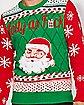 Light Up Santa Jolly As Fuck Ugly Christmas Sweater