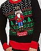 Fa La La La La Fuck You Ugly Christmas Sweater
