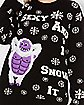 Sexy And I Snow It Abominable Snowman Light Up Ugly Christmas Sweater