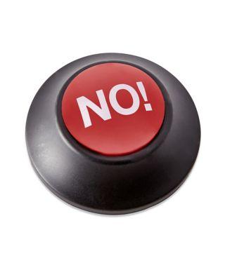 No button!