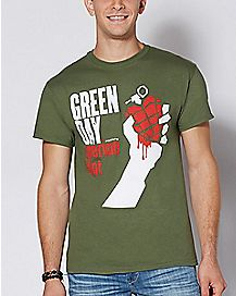 American Idiot Green Day T Shirt