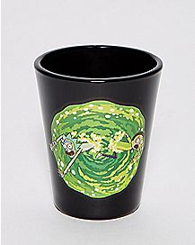 Portal Rick and Morty Shot Glass - 1.5 oz.