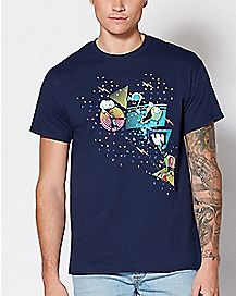 Party Invaders Invader Zim T Shirt