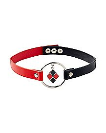 Harley Quinn Choker Necklace - DC Comics