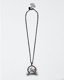 Jack and Sally Shaker Necklace - The Nightmare Before Christmas