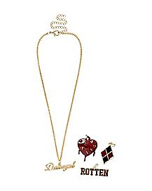 Harley Quinn Charm Necklace - DC Comics
