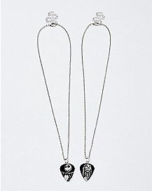 Best Friend Jack and Sally Necklaces - The Nightmare Before Christmas