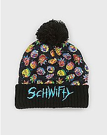 Pom Schwifty Rick and Morty Beanie Hat