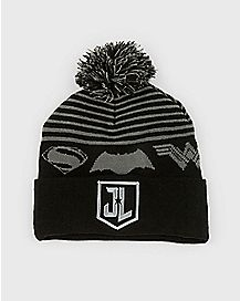 Pom Justice League Beanie Hat - DC Comics