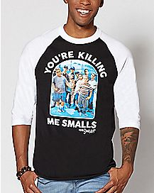 Raglan You're Killing Me Smalls T Shirt - The Sandlot