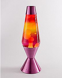 Red Yellow and Pink Lava Lamp - 16.3 Inch
