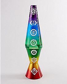 Chakra Lava Lamp - 17 Inch