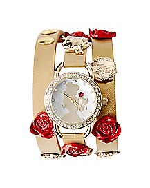 Wrapped Bracelet Belle Watch - Disney