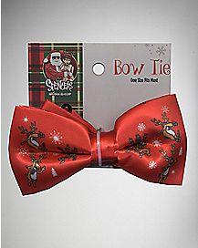 Drunk Reindeer Bow Tie