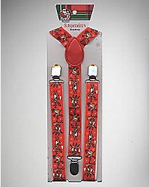 Drunk Reindeer Suspenders