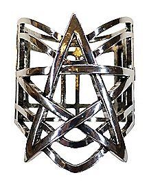 Pentagram Cuff Bracelet