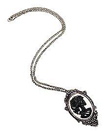 Unicorn Cameo Necklace