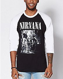 Raglan Nirvana T Shirt