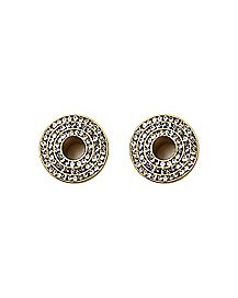 Goldplated CZ Circle Tunnels - 00 Gauge