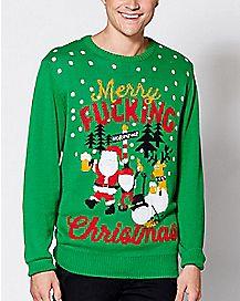 Merry Fucking Christmas Sweater
