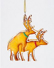 Humping Reindeer Christmas Ornament