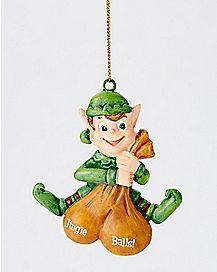 Jingle Balls Elf Chritmas Ornament
