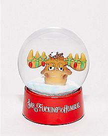 Bah Fucking Humbug Snow Globe