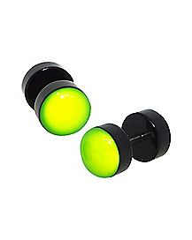 Yellow Glow Fake Plugs